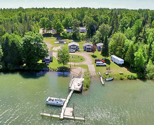 Barbeau, MI Campground near Sault Ste  Marie, MI