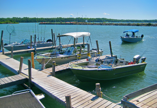 Barbeau, MI Boat Rentals and Fishing on the St. Mary's River near Sault Ste. Marie