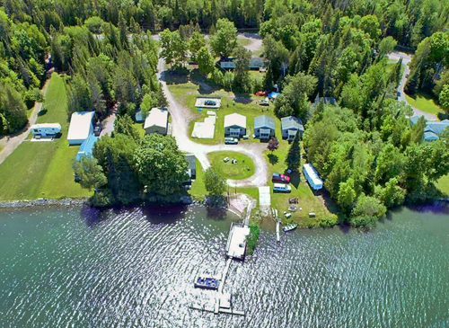Rock Cut Resort offers Upper Peninsula riverside cabin rentals and a campground.  Our cabins are all fully furnished with a screened in porch.