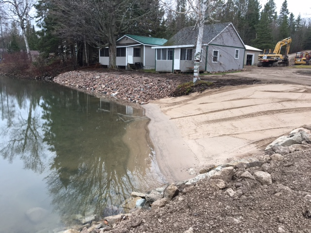 Shoreline and beach improvements